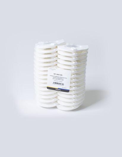 Imagen de Juego de platinas plásticas para Sistema Magnéticos para articulador AD2