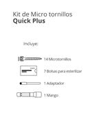 Imagen de Kit de Micro tornillos Quick Plus